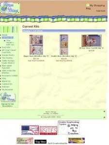 apron strings retail ecommerce website design