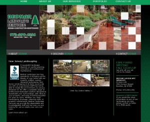 Bednar Landscape and Design - Landscape Website Design