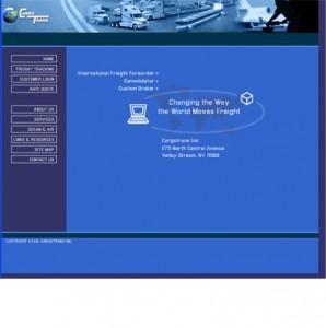 Cargo Trans website design