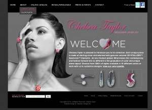 Chelsea Taylor - Retail Website Design