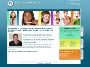 Dr. Meltzer - Healthcare Website Design