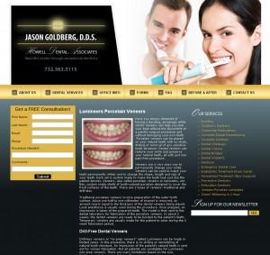 Howell Dental - Healthcare Website Design