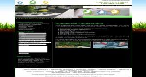 jersey landscaping website design