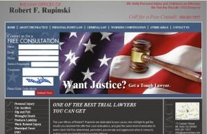law offices robert f rupinski website design