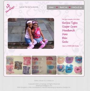 Lil Darlings - Retail Website Design