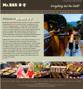 Mr Bar B Q - Retail Website Design