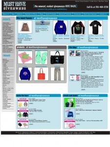 must have giveaways retail ecommerce website design