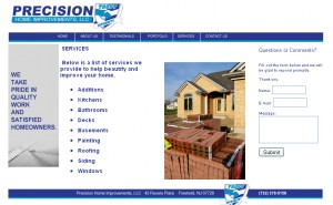 precision home improvements