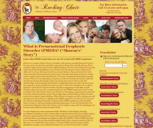 The Rocking Chair - Womens Wellness Center - Healthcare Website Design