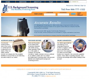 U.S. Background Screening