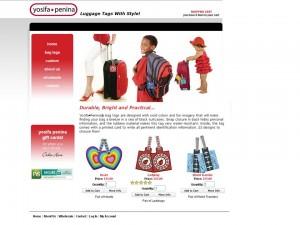 yosifa penina retail ecommerce website design