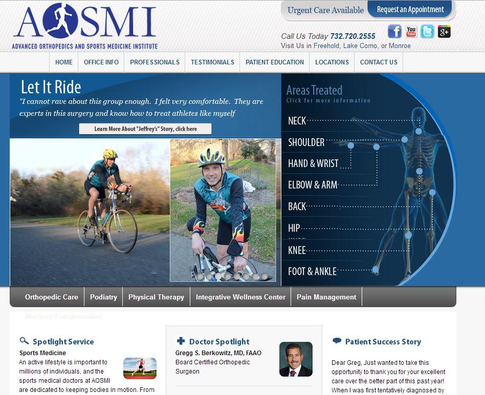 Advanced Orthopedics And Sports Medicine Institute Aosmi